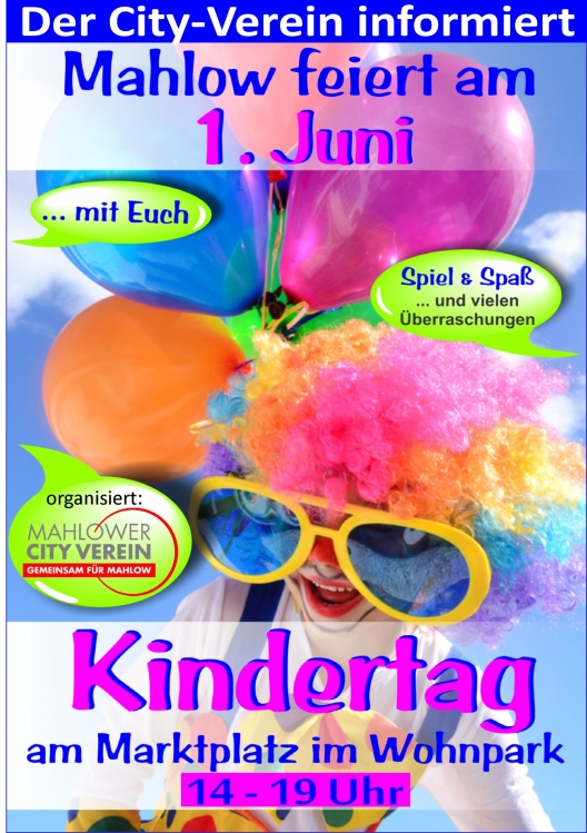 Kindertag in Mahlow